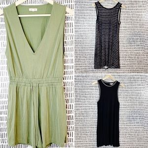 Bundle American Eagle summer dress and romper